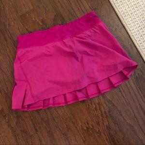 Lululemon Pink Athletic Skirt Size 6